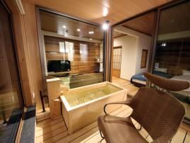 信濃邸[六花]の客室風呂